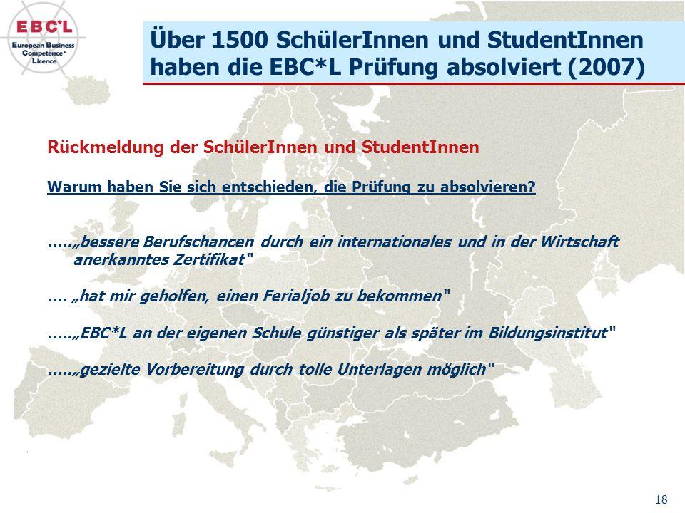 Über 1500 SchülerInnen und StudentInnen haben die EBC