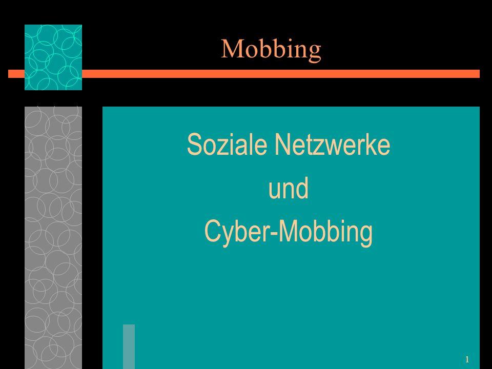 Soziale Netzwerke und Cyber-Mobbing