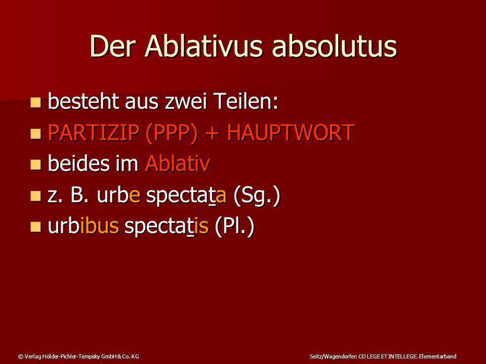 Der Ablativus absolutus