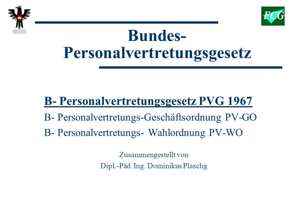 Bundes-Personalvertretungsgesetz
