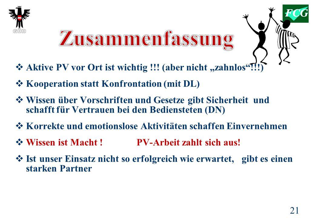 """Zusammenfassung Aktive PV vor Ort ist wichtig !!! (aber nicht """"zahnlos !!!) Kooperation statt Konfrontation (mit DL)"""