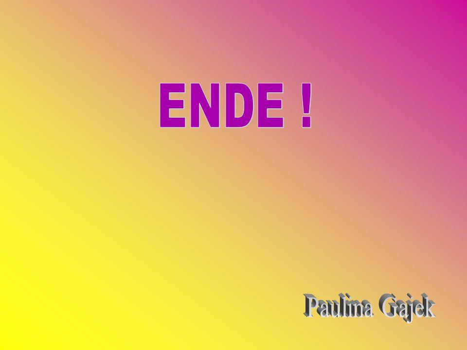 ENDE ! Paulina Gajek