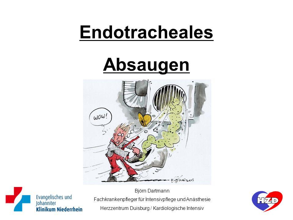 Endotracheales Absaugen
