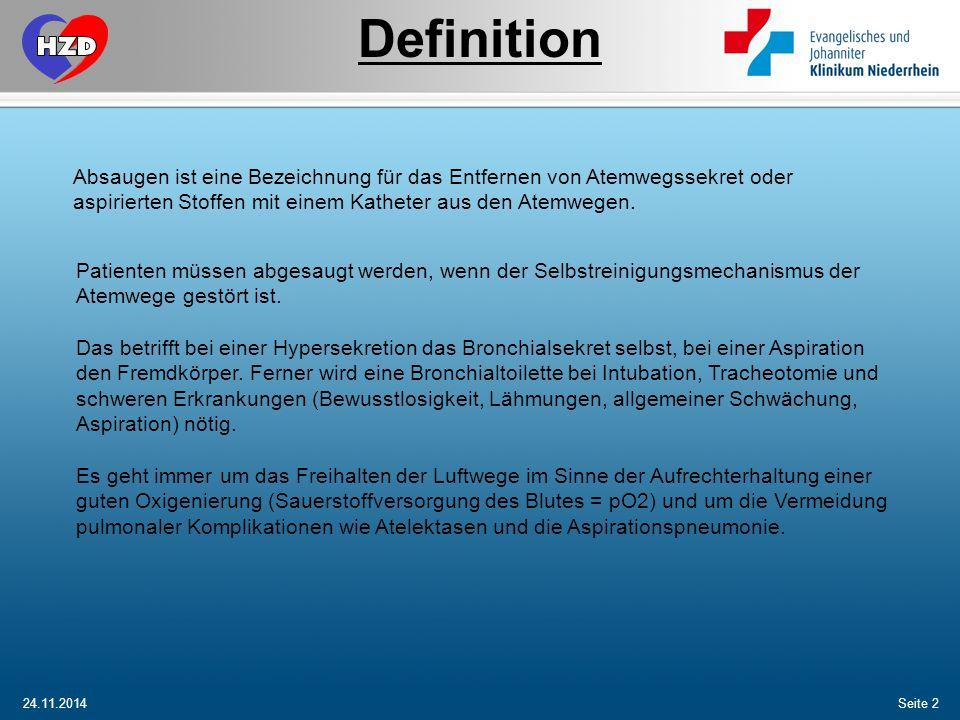 Definition kopf. Absaugen ist eine Bezeichnung für das Entfernen von Atemwegssekret oder aspirierten Stoffen mit einem Katheter aus den Atemwegen.