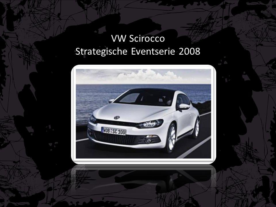 VW Scirocco Strategische Eventserie 2008