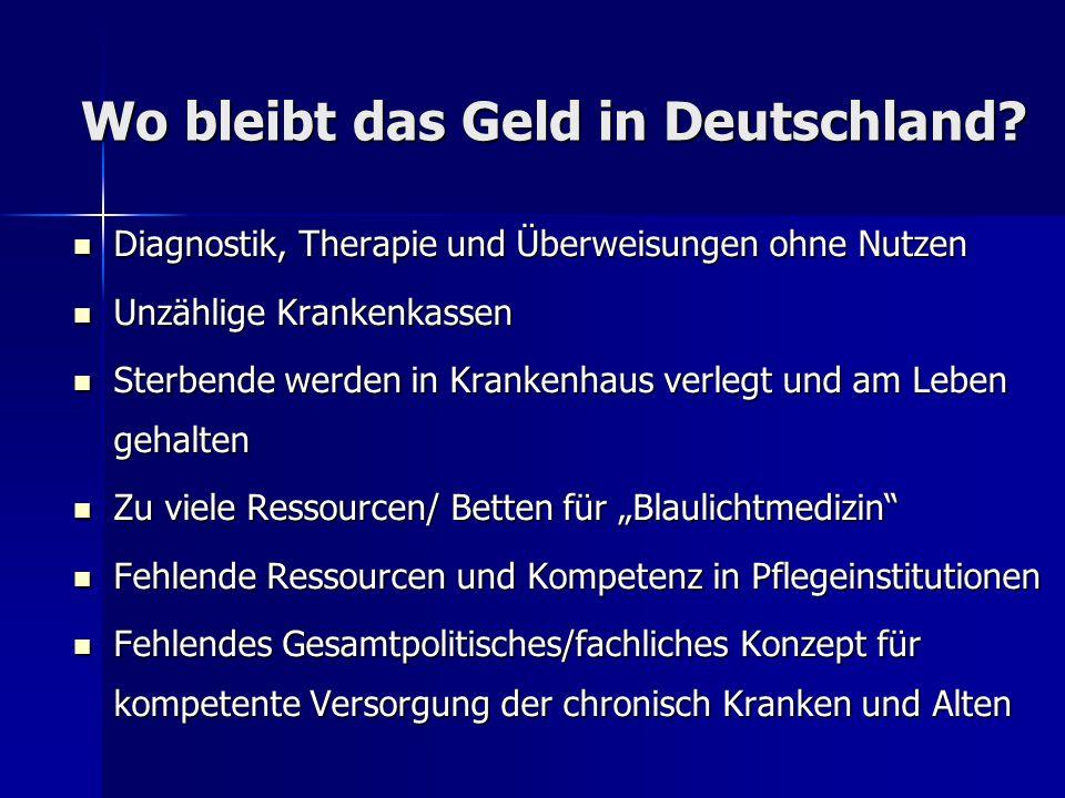 Wo bleibt das Geld in Deutschland