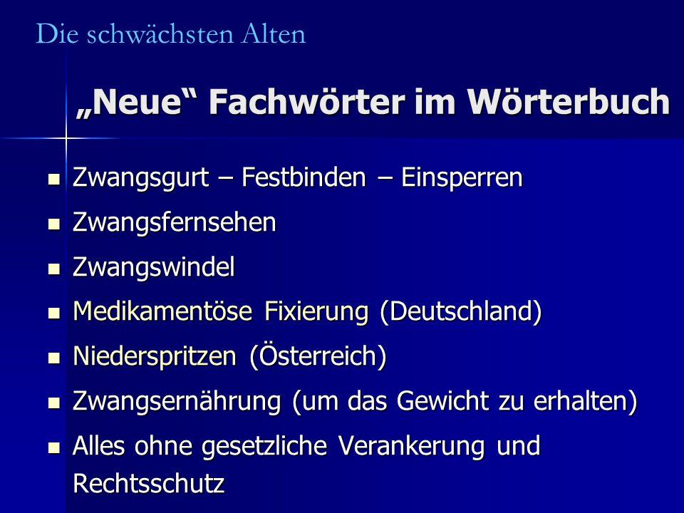 """""""Neue Fachwörter im Wörterbuch"""