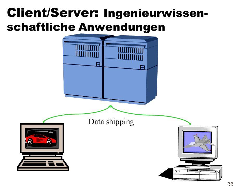 Client/Server: Ingenieurwissen-schaftliche Anwendungen