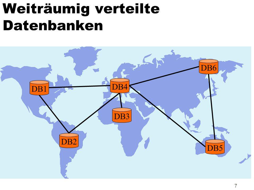 Weiträumig verteilte Datenbanken