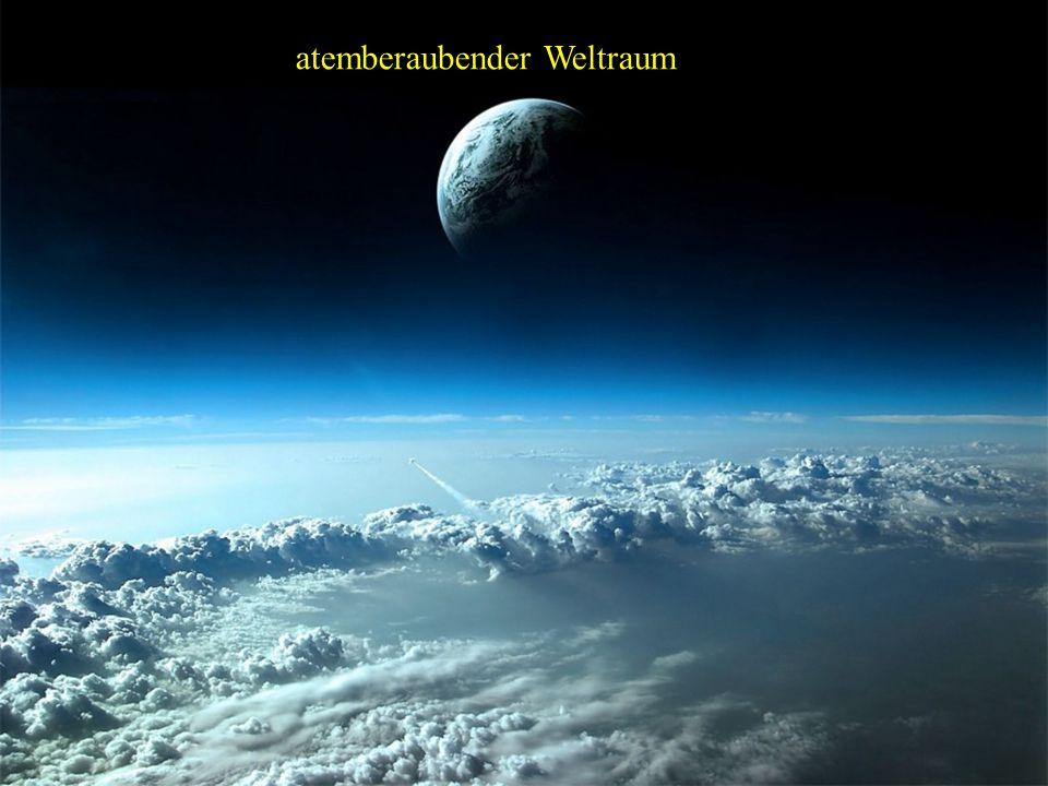 atemberaubender Weltraum