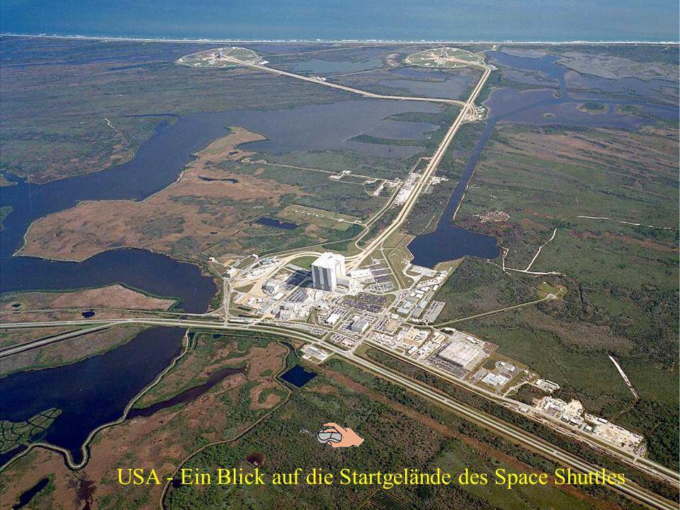 USA - Ein Blick auf die Startgelände des Space Shuttles