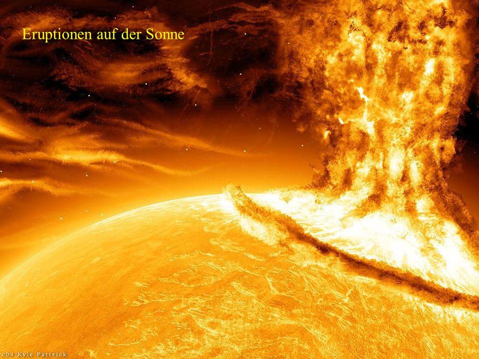Eruptionen auf der Sonne