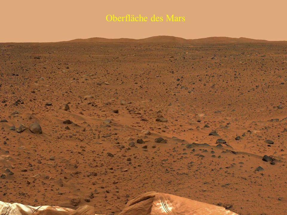 Oberfläche des Mars