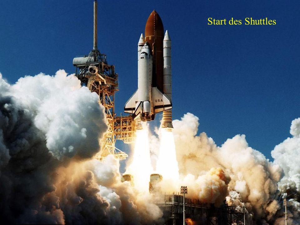 Start des Shuttles