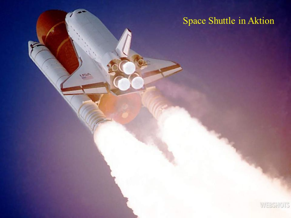 Space Shuttle in Aktion