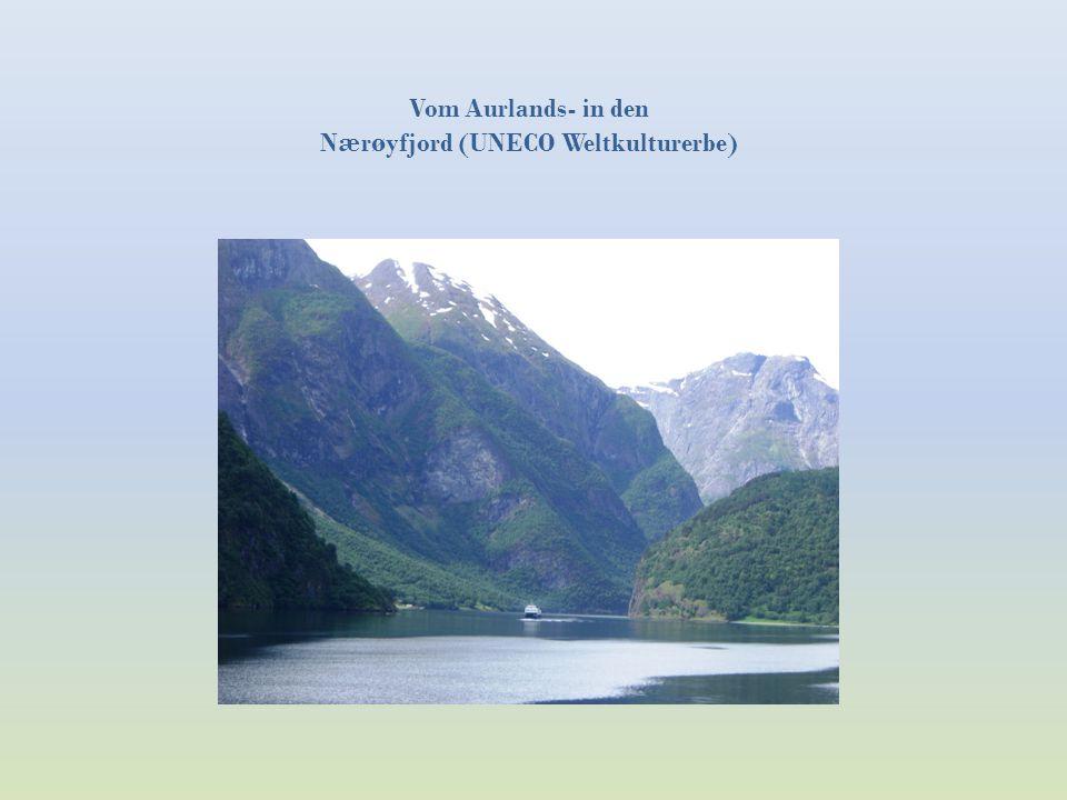 Nærøyfjord (UNECO Weltkulturerbe)