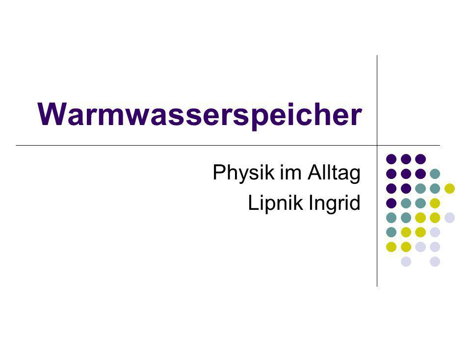 Physik im Alltag Lipnik Ingrid