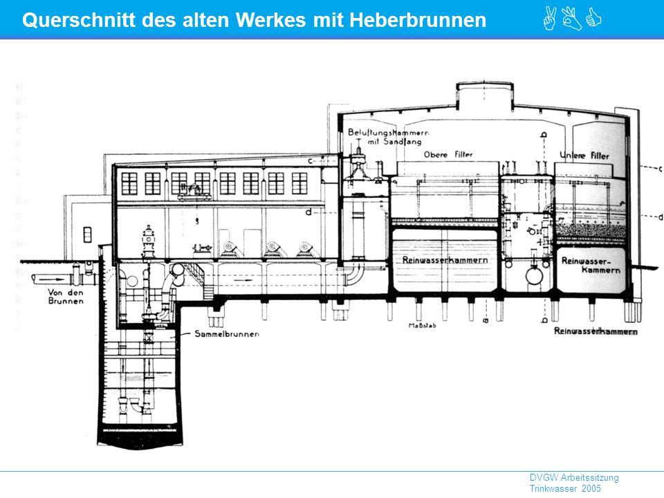 Querschnitt des alten Werkes mit Heberbrunnen