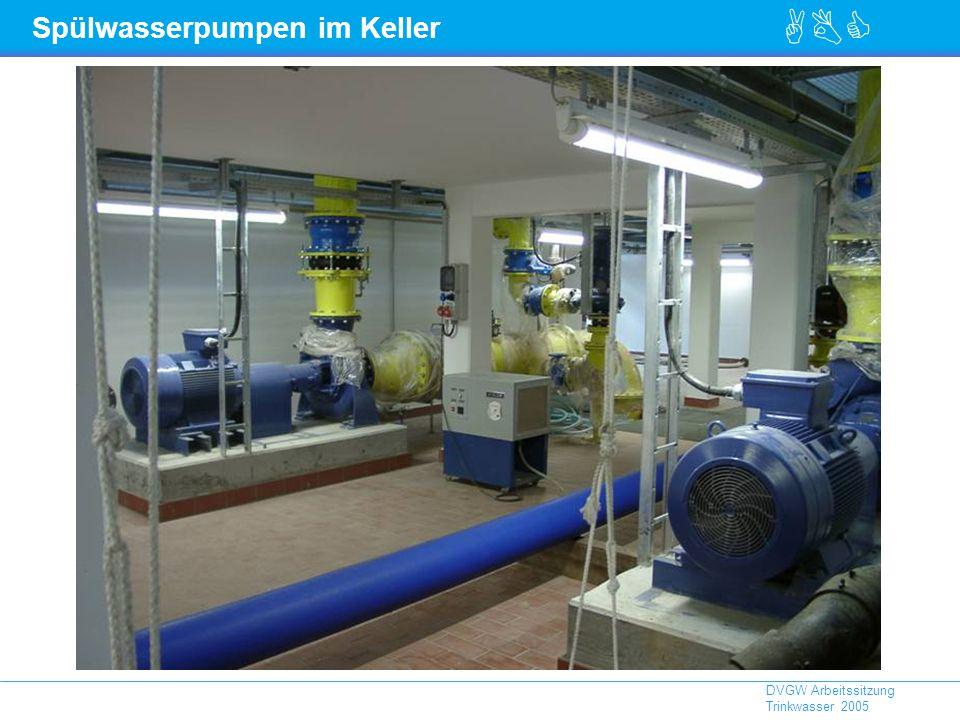 Spülwasserpumpen im Keller