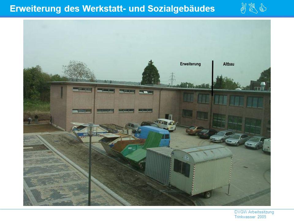 Erweiterung des Werkstatt- und Sozialgebäudes