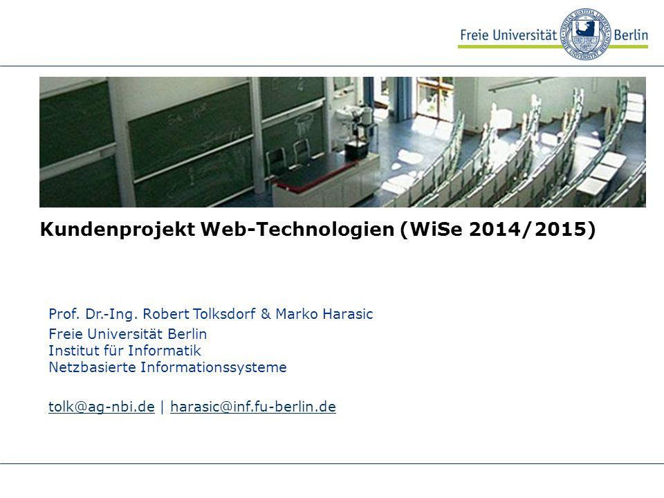 Kundenprojekt Web-Technologien (WiSe 2014/2015)