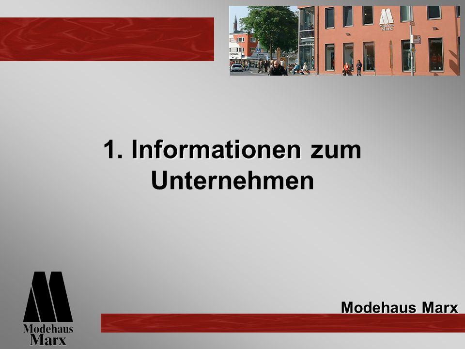 1. Informationen zum Unternehmen