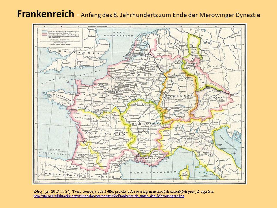 Frankenreich - Anfang des 8
