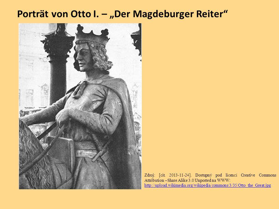 """Porträt von Otto I. – """"Der Magdeburger Reiter"""
