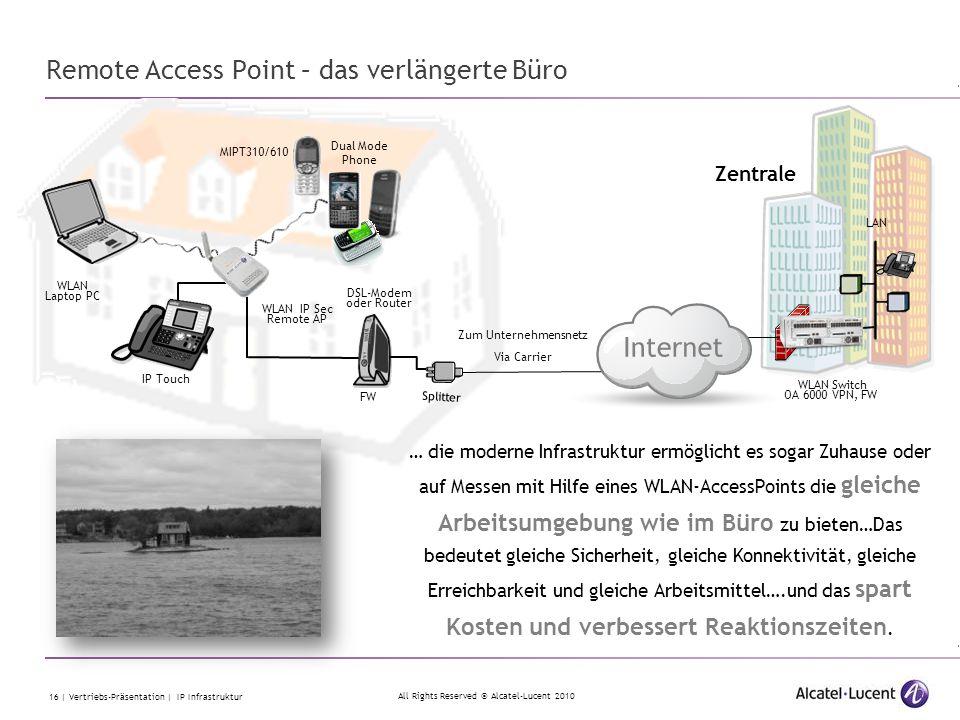 Remote Access Point – das verlängerte Büro