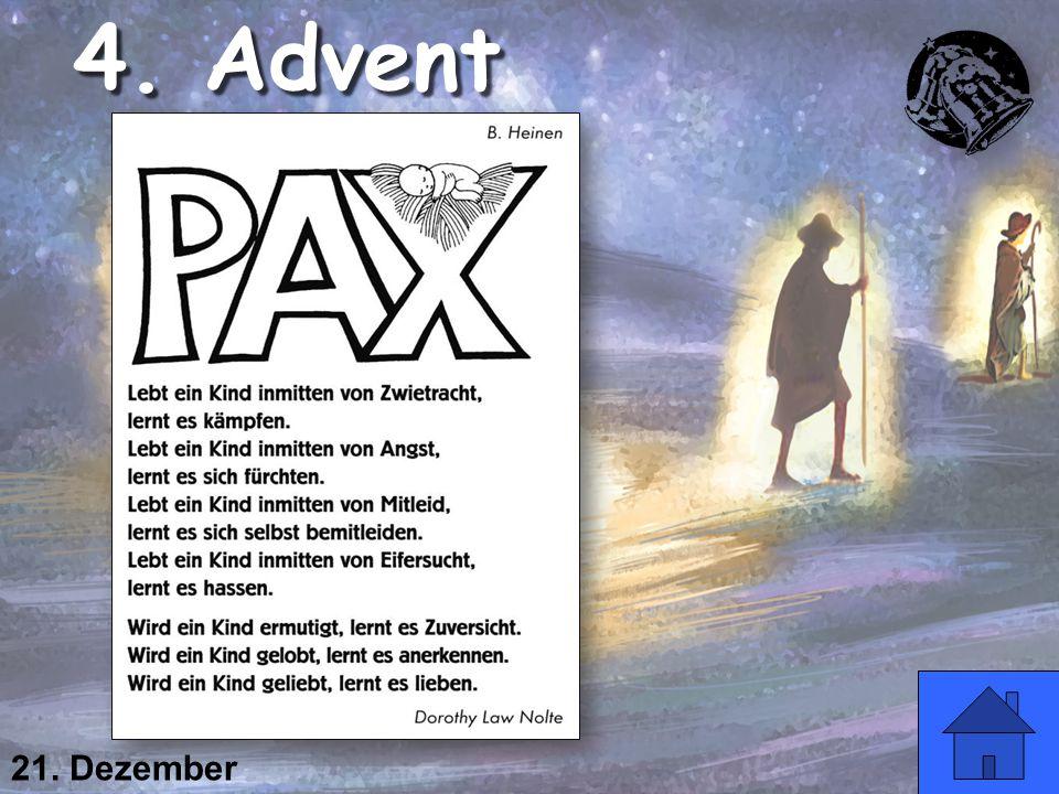 4. Advent 21. Dezember