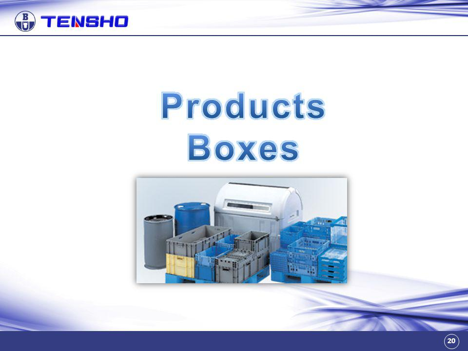 Products Boxes