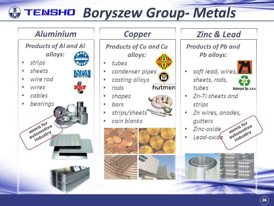 Boryszew Group- Metals