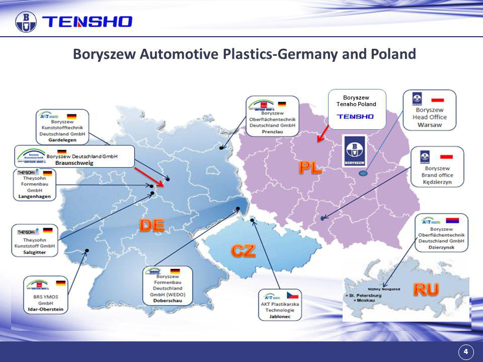 Boryszew Automotive Plastics-Germany and Poland Boryszew Tensho Poland