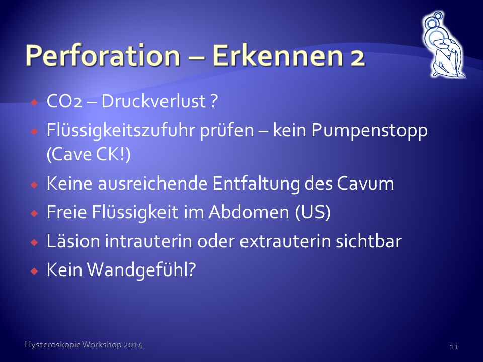 Perforation – Erkennen 2