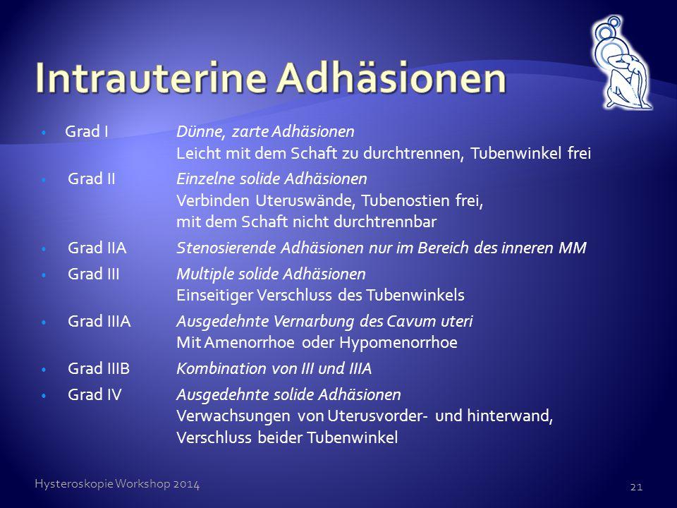 Intrauterine Adhäsionen
