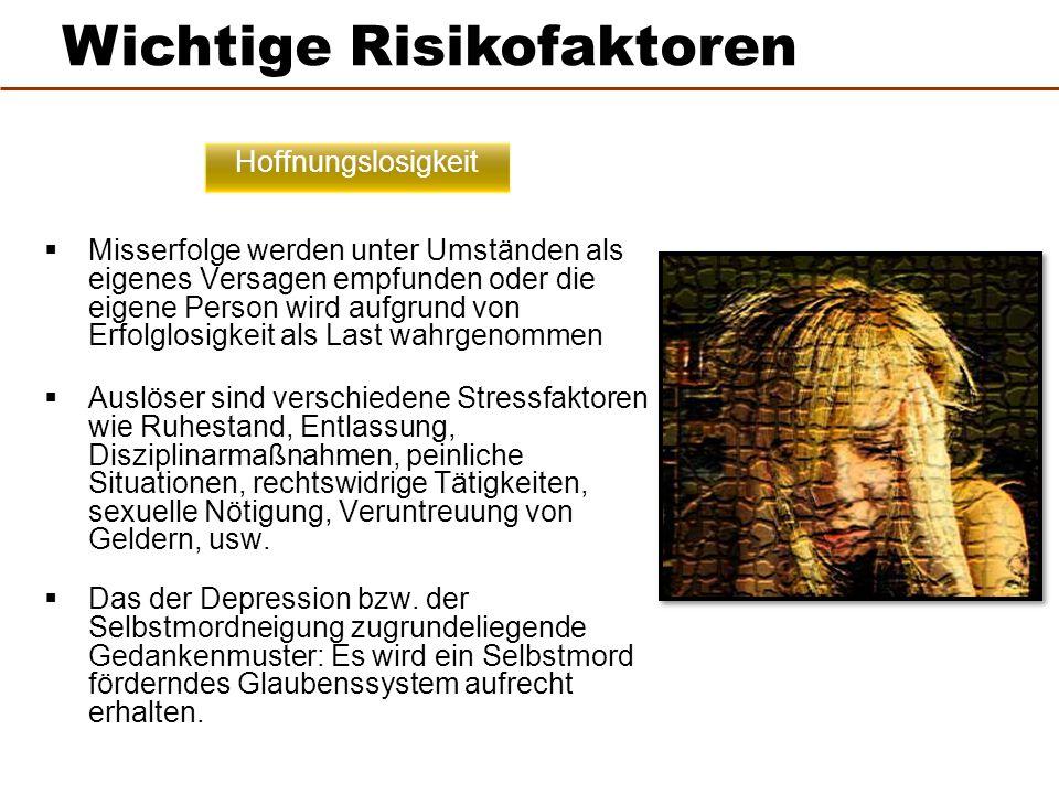 Wichtige Risikofaktoren