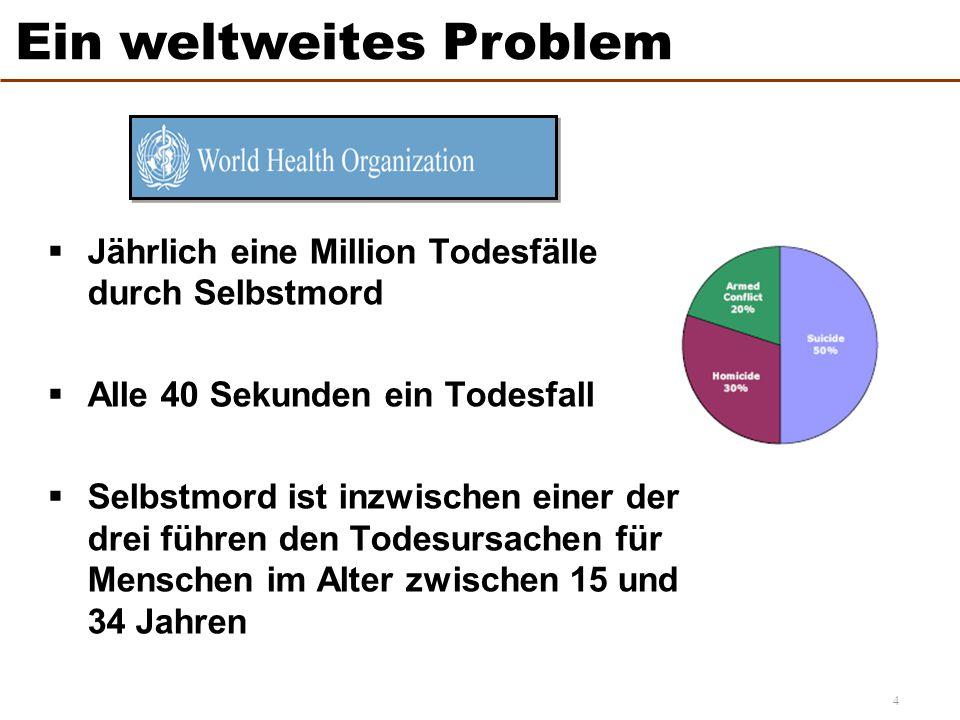 Ein weltweites Problem