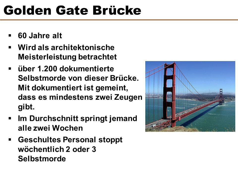 Golden Gate Brücke 60 Jahre alt