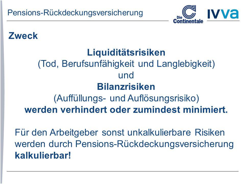 Pensions-Rückdeckungsversicherung