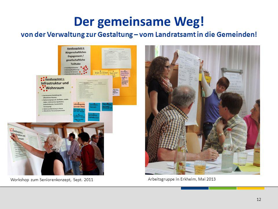 Der gemeinsame Weg! von der Verwaltung zur Gestaltung – vom Landratsamt in die Gemeinden!