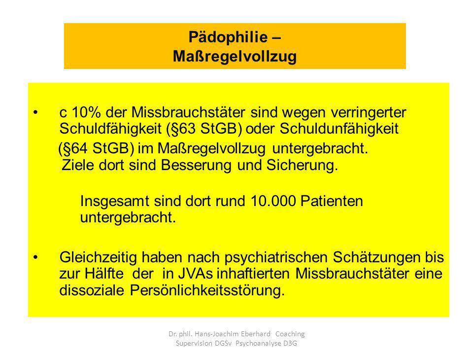 Pädophilie – Maßregelvollzug