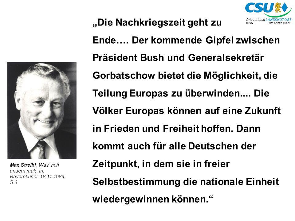 """""""Die Nachkriegszeit geht zu Ende…"""