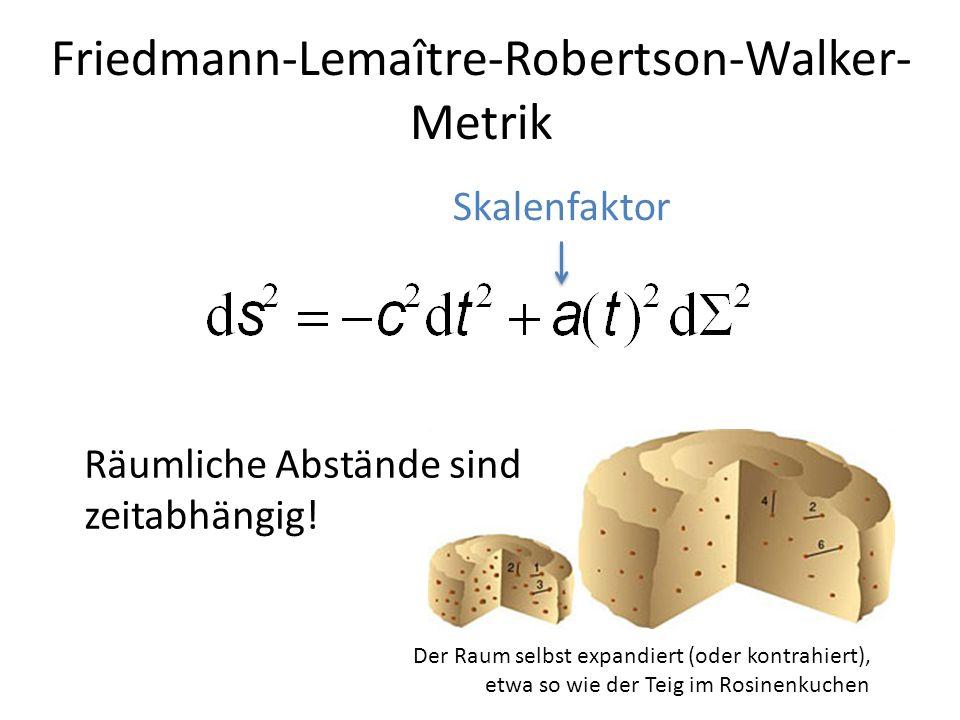Friedmann-Lemaître-Robertson-Walker-Metrik