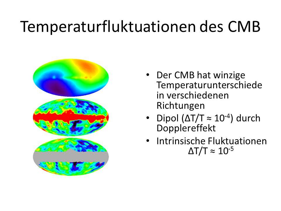 Temperaturfluktuationen des CMB