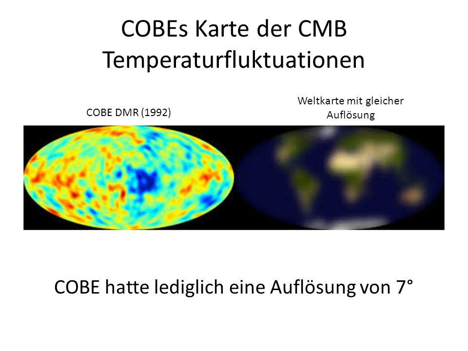 COBEs Karte der CMB Temperaturfluktuationen