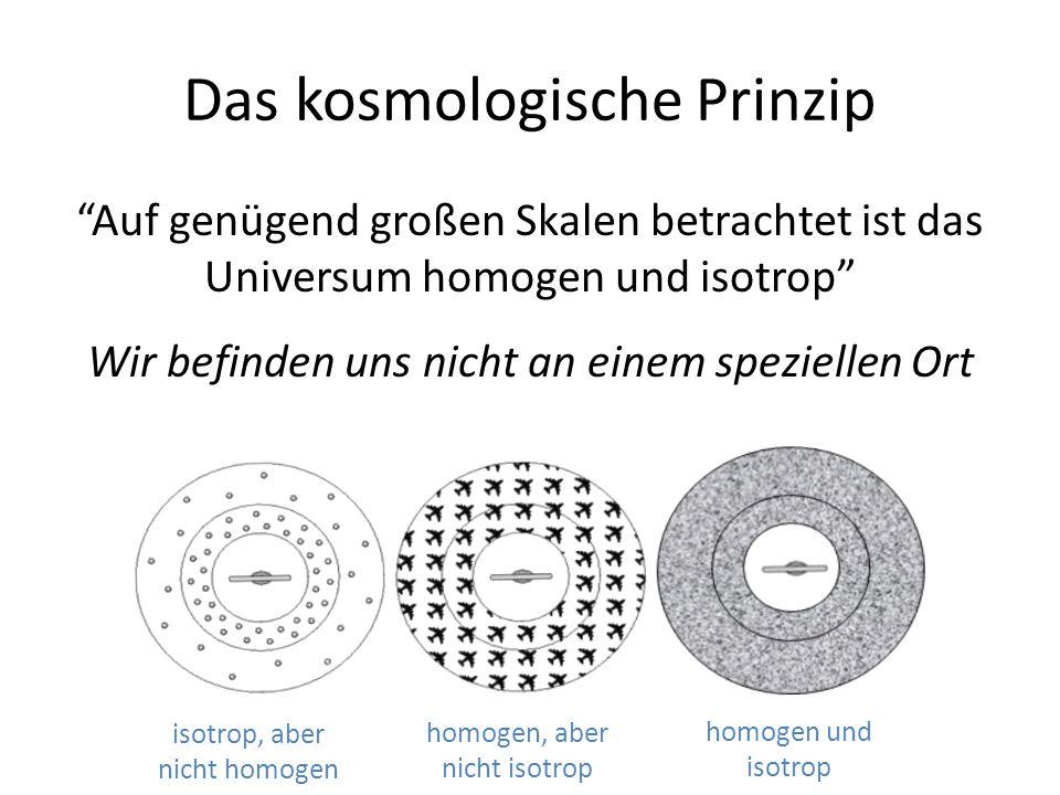 Das kosmologische Prinzip