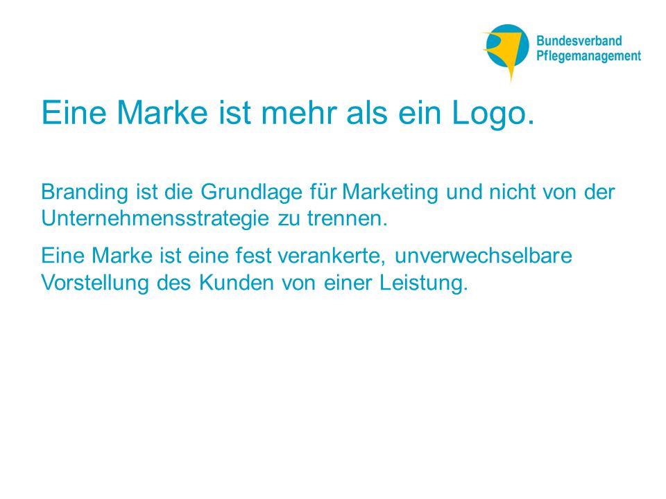 Eine Marke ist mehr als ein Logo.