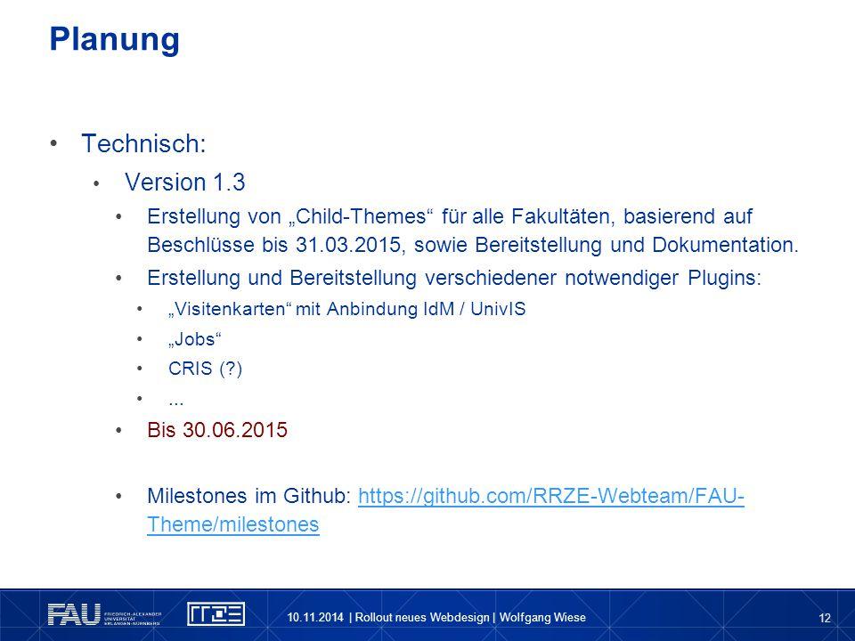 Planung Technisch: Version 1.3