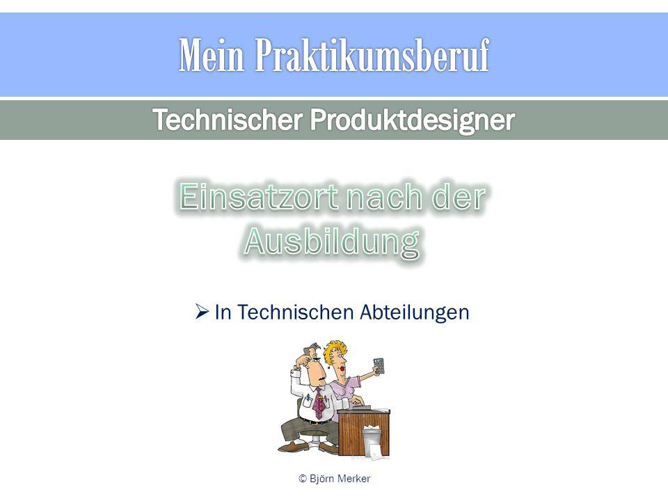 Technischer Produktdesigner