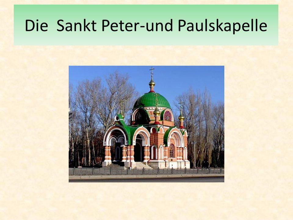 Die Sankt Peter-und Paulskapelle